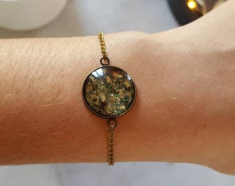 Black sequin bracelet