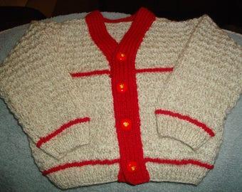 Handmade wool vest