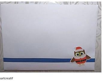 "Envelope coordinates ""waiting for Christmas"""