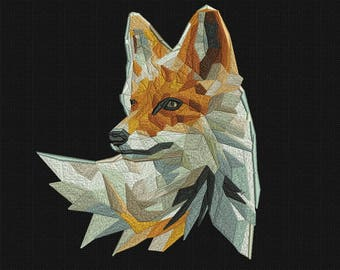 Machine Embroidery Designs Embroidery Fox Digital embroidery Maschin en stickerei design of machine embroidery hoop 7.96 x 6.99 in