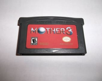 Mother 3 Earthbound Nintendo Game Boy Advance Gameboy GBA ENGLISH (Earthbound 2)