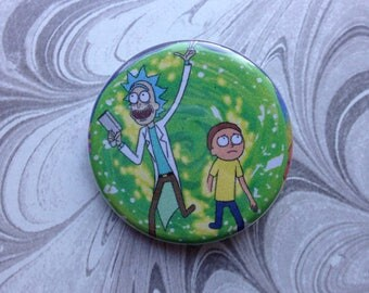 Rick and Morty Button