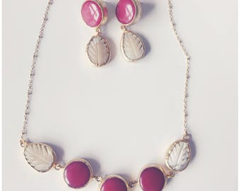 Mother of Pearls & Gemstones Set