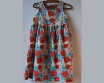 6 Japanese inspired cotton dress