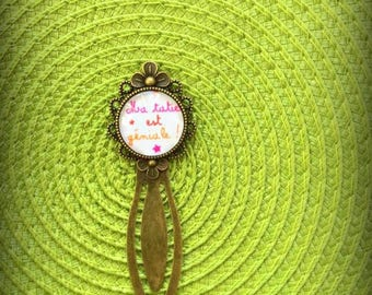 "Bookmark bronze ""Auntie"""