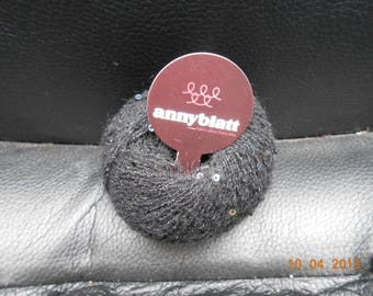 Anny blatt treasure Black wool