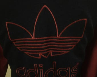 Vintage ADIDAS Big Logo Embroidery 90's,size M