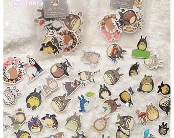 Kawaii Totoro Stickers | Studio Ghibli Stickers | Cute Stickers | Stationery | Japanese | KawaiiPartners