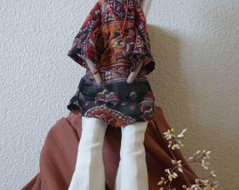 Hippie Tilda Doll
