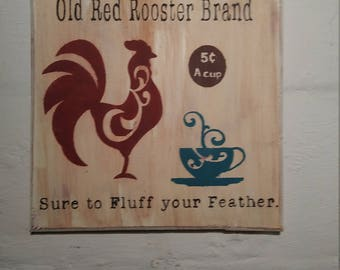 Old rooster brand - coffee