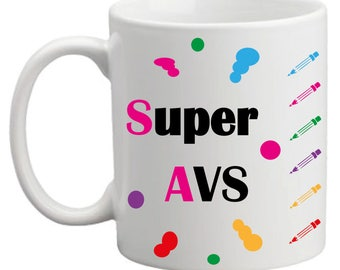 """Super AVS"" mug"