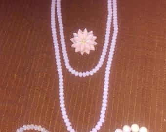 4 piece jewelry set