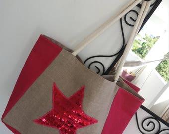 Pink star ByChris bag