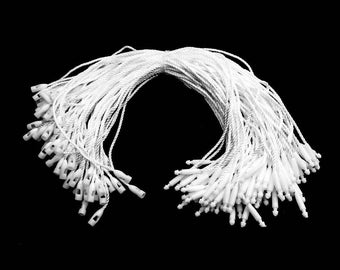 Nylon Strings - Loops - Hanging Tags - for Clothing Jewellery - Retail Shop - Office Products