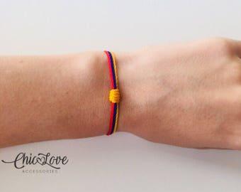 Pulsera de Colombia, Colombian Bracelet, Bracelet, Colombian Flag.