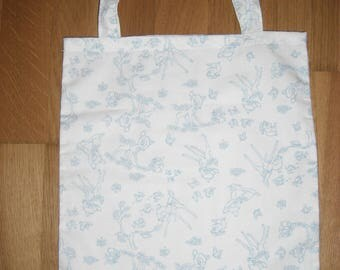 TOTE BAG / purse A snack, bambi fabric
