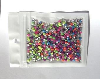 Nail art 3D neon 600 rhinestones