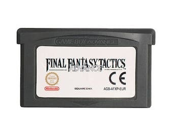 Final Fantasy Tactics Advance GBA Nintendo Game Boy Advance Fra/Eng/two/Esp/Ita repro new Pal