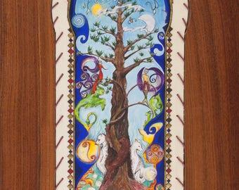 "Postcard ""dream tree"" card"