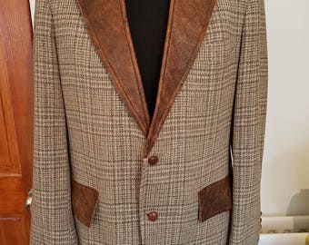 Blazer Jacket Mens - By Just Cool Re-Engineering - English jacket country tweed