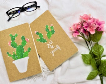 TWO IN ONE ---- two cactus notebooks
