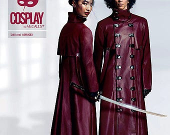 By Mc Call's Trenched M2014 Cosplay costume sewing pattern