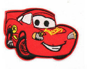 coat pattern cars red car applique embroidery, sewing fusible
