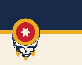 Grateful for Tulsa Flag