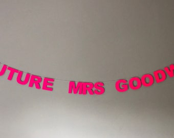 Banner - Future Mrs ... - hen do party - personalised