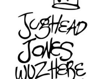 Jug Head Jones Graffiti Riverdale SVG