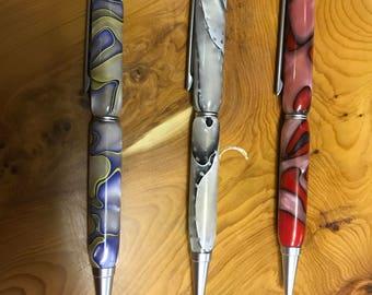 Hand made Acrylic ball point pen
