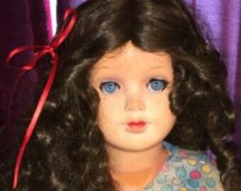 Doll - Antique German Metal Socket Head Doll