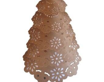 Navidad_ lace tree