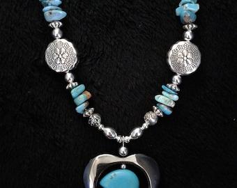 Bear Navajo Handmade Necklace