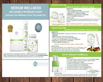 Nerium EHT/YF flyers