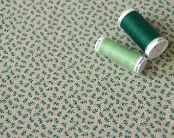Patchwork fabric green decorations