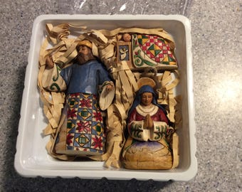 Mary, Joseph, Jesus . Joy to the world.
