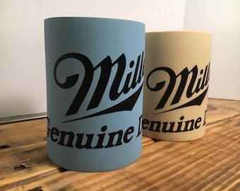 Miller Genuine Draft Koozies Vintage Beer Collectible