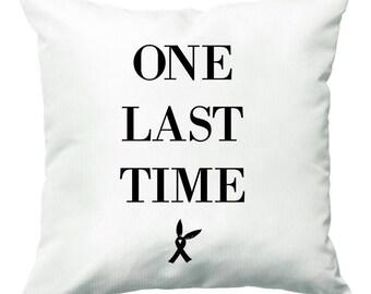 Araiana Grande - One Last Time Cushion - 40cm x 40cm Throw Pillow - Fun Cases