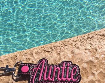 Auntie Key Fob