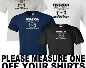 mazda grandad t shirt all sizes upto 5xl