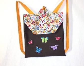 Cartable / Sac à dos enfant motifs Papillons