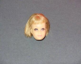 década de 1960 Mattel vintage Francie Barbie Doll cabeza rubia Reroot o Japón Ooak