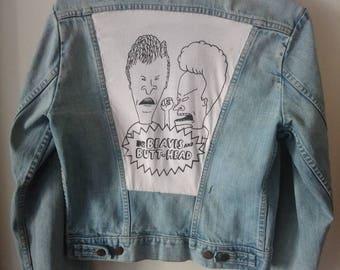 Vintage Beavis & Butthead Denim Jacket