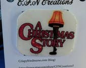 Christmas story/pin/novelty