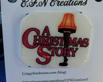 Christmas story/pin/novelty