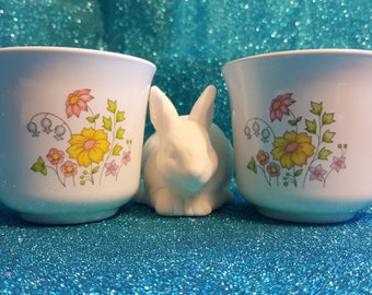Vintage Corelle Meadows Cups (Set of 2)