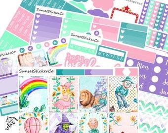 Over the Rainbow   Erin Condren Weekly Kit (K05)
