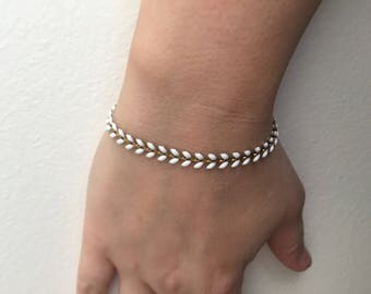 Bracelet lightweight chain white COB or other colors
