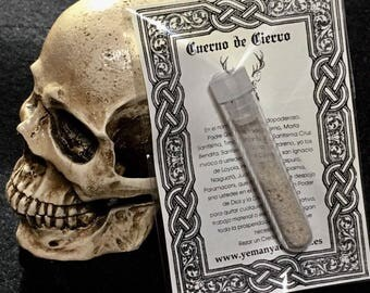 Deer horn for rites I deer horn for rituals i wiccai witches I wizards I